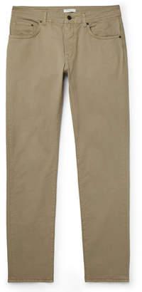 Boglioli Slim-Fit Cotton-Blend Twill Trousers
