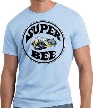 PubliciTeeZ Big and Tall King Size Licensed Dodge Super Bee Logo T-Shirt (XLT, )