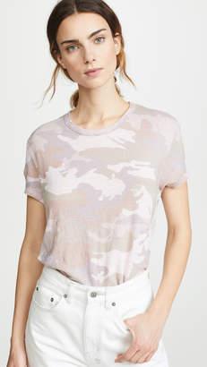 Zadig & Voltaire Walk Linen Camo T-Shirt