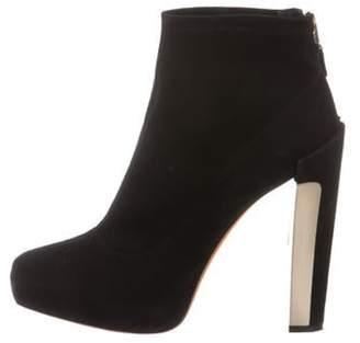 Brian Atwood Platform Ankle Boots Black Platform Ankle Boots