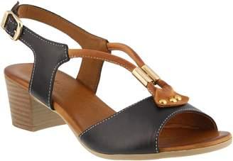 Spring Step Leather Sandals - Roselyn