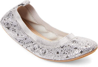 Yosi Samra Toddler Girls) Smoke Sammie Paint Dripped Ballet Flats