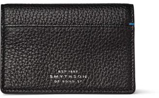 Smythson Burlington Full-Grain Leather Bifold Cardholder