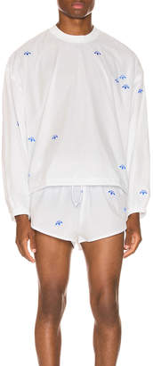 Alexander Wang Adidas By adidas by Crewneck in Core White | FWRD