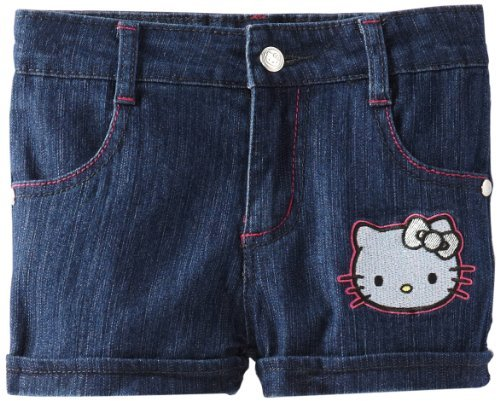 Hello Kitty Girls 2-6X Denim Short