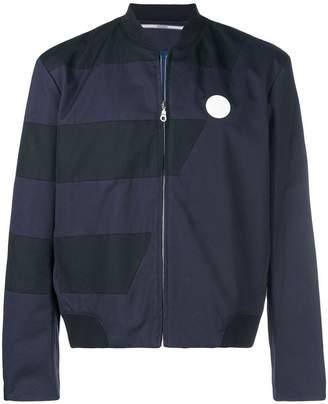 Kenzo panelled bomber jacket