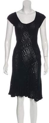 Zac Posen Knit Flared Dress