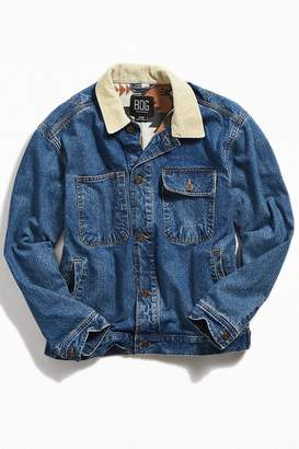 BDG Corduroy Collar Relaxed Fit Trucker Jacket