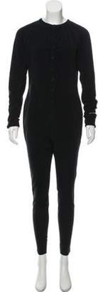 Burton High-Rise Pajama Jumpsuit Black High-Rise Pajama Jumpsuit