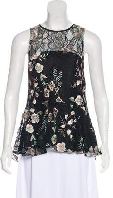 Zac Posen Lace Sleeveless Top w/ Tags