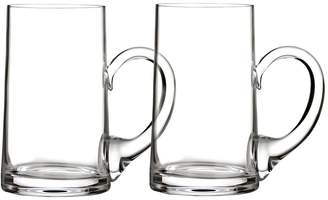 Waterford Elegance Beer Mugs (Set of 2)