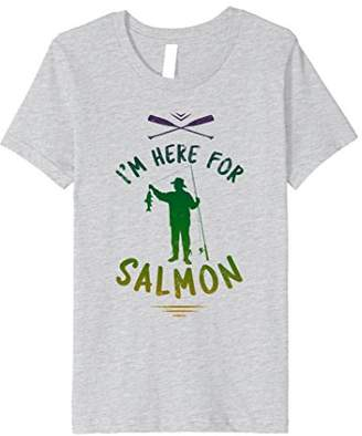 I'm Here For The Salmon - Beach Fishing Lover Shirt
