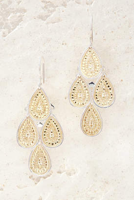 Anna Beck Gold Chandelier Earrings