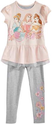 Disney Toddler Girls 2-Pc. T-Shirt & Leggings Set