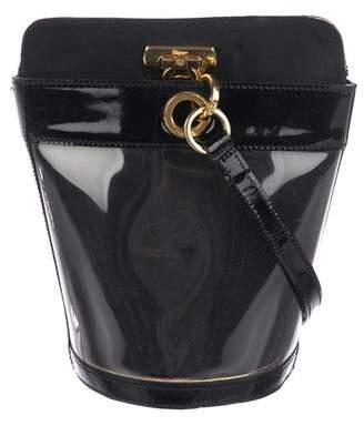 Salvatore Ferragamo PVC Bucket Bag