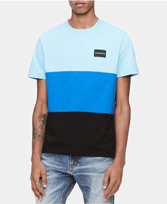 Calvin Klein Jeans Men Global Colorblocked T-Shirt