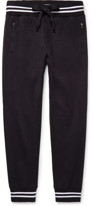 Dolce & Gabbana Slim-Fit Tapered Loopback Cotton-Jersey Sweatpants