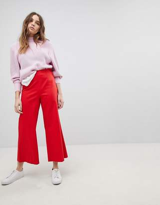 Max & Co. Max&Co Wide Leg Cropped Pants