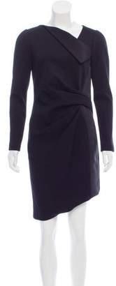 J. Mendel Knee-Length Long Sleeve Dress