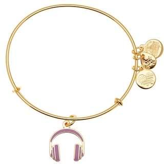 Alex and Ani Headphones Color Infusion Expandable Wire Charm Bracelet