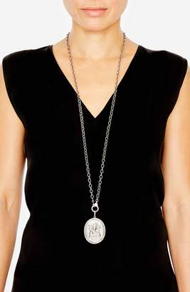 Ganesh SHERYL LOWE Coin Pendant Necklace