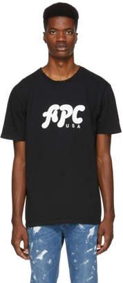 A.P.C. Black U.S. Marky T-Shirt