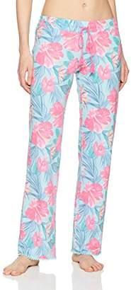 PJ Salvage Women's Hot Tropic Floral Lounge Pant