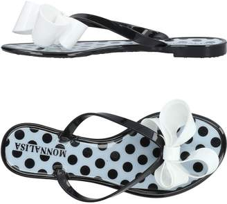 MonnaLisa BEACH Toe strap sandals - Item 11424155JG