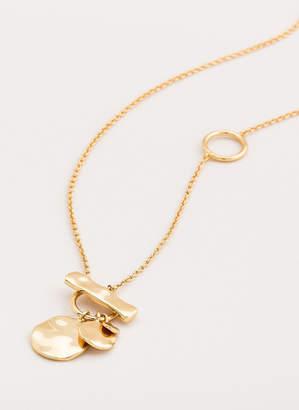 Gorjana Chloe Small Toggle Versatile Necklace