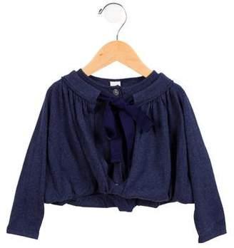 Tia Cibani Girls' Layered Long Sleeve Cardigan w/ Tags