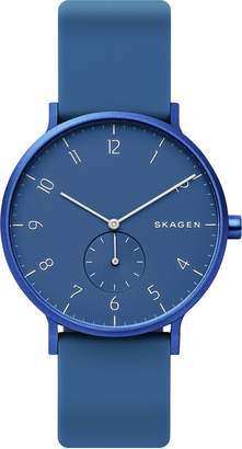 Skagen Kulor Blue Silicone Strap Watch