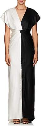 Prabal Gurung Women's Colorblocked Silk Charmeuse Gown