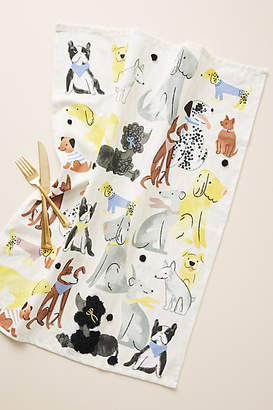 Anthropologie Fido & Friends Dish Towel