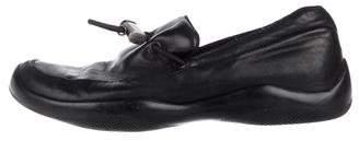 Prada Sport Leather Slip-On Sneakers