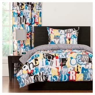 Crayola Dream On Comforter and Shams (Twin)