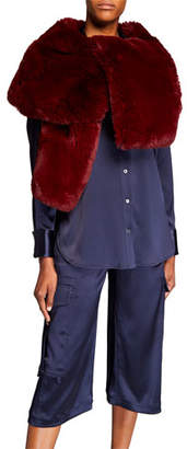 Sies Marjan Faux-Fur Shrug