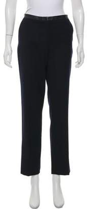 Tory Burch Wool High-Rise Pants
