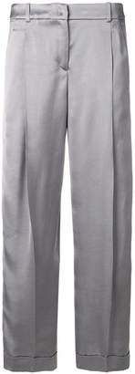 Jil Sander Navy cropped trousers
