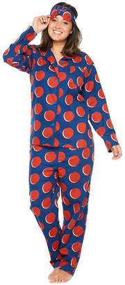 JCPenney TRACEE ELLIS ROSS FOR Tracee Ellis Ross for JCP Pant Pajama Set with Eyemask