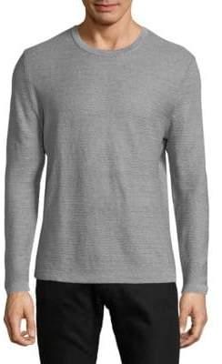 HUGO BOSS Ollivio Striped Linen Sweatshirt
