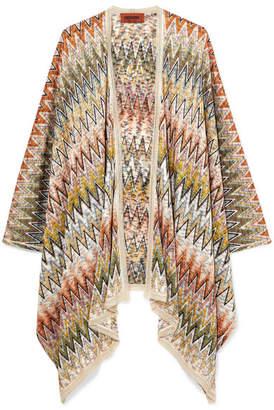 Missoni Crochet-knit Wrap - Green