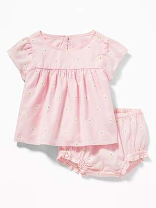 fe8b297cb Old Navy Printed Top & Bloomers Set for Baby