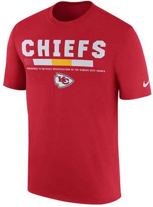 Nike Men's Kansas City Chiefs Legend Staff T-Shirt