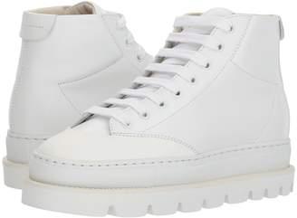 MM6 MAISON MARGIELA Cap Toe Platform High Top Women's Shoes