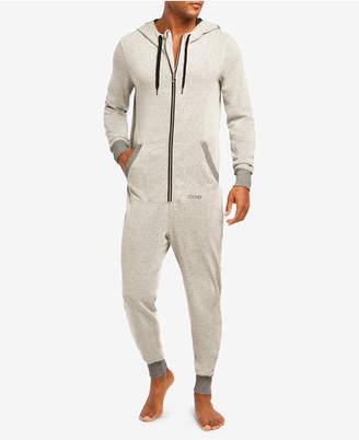 2xist Men Jumpsuit Hoodie Pajamas