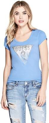 GUESS Factory Women's Tracy Logo Tee