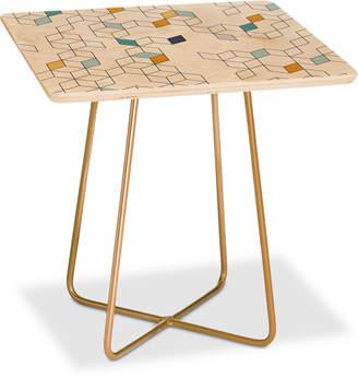 Deny Designs Florent Bodart Keziah Day Square Side Table
