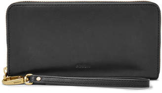 Fossil Emma RFID Large Zip Clutch