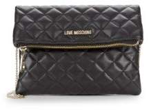Love Moschino Quilted Chain Strap Clutch
