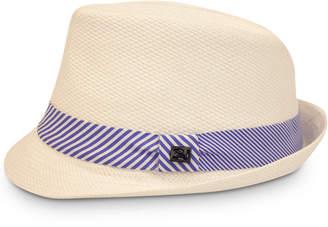 Sean John Men 2-Stripe Knot Straw Hat